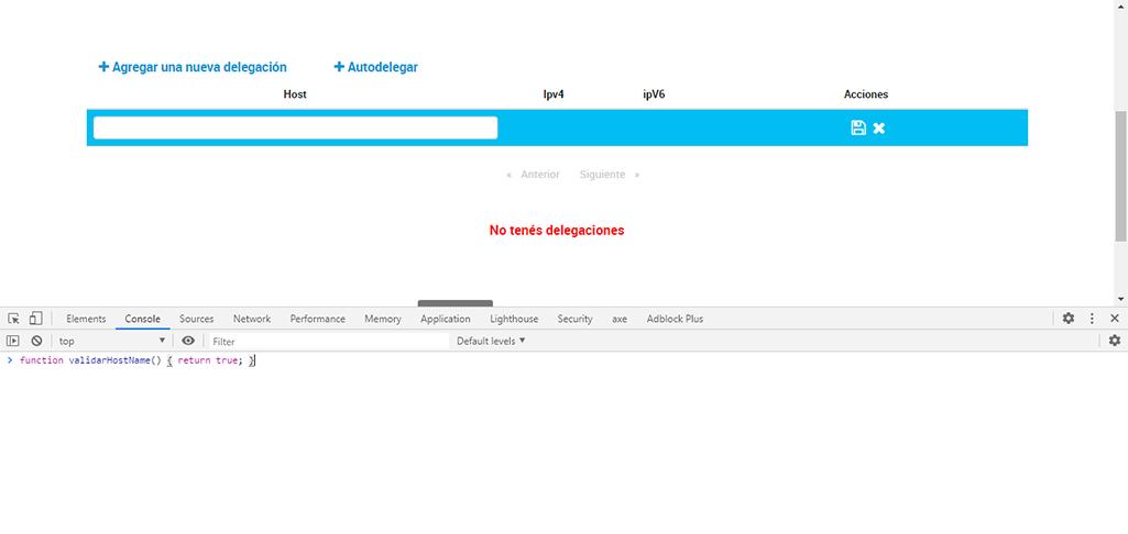 como arreglar el error al delegacion de dominios en nic.ar